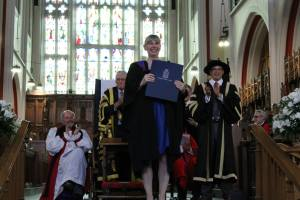 Lynne gets her degree!